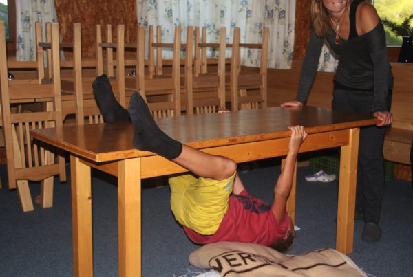 Tischboulder Challenge