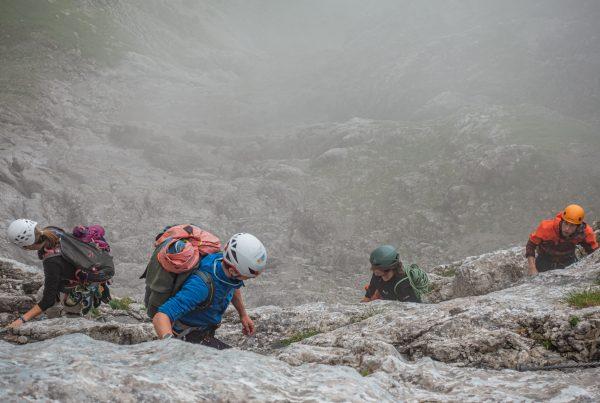 Junge Alpinisten