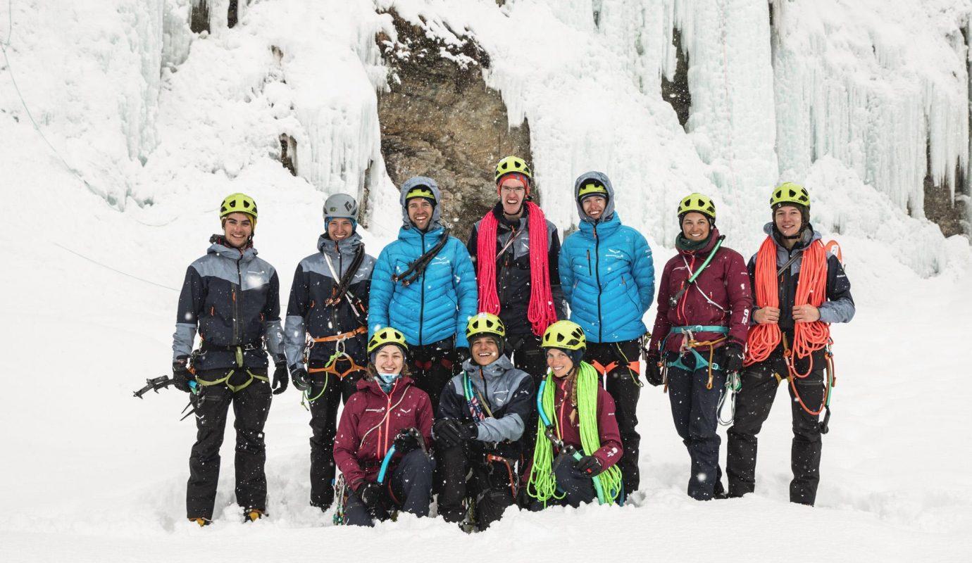 Ramona Waldner / Update Eisklettern